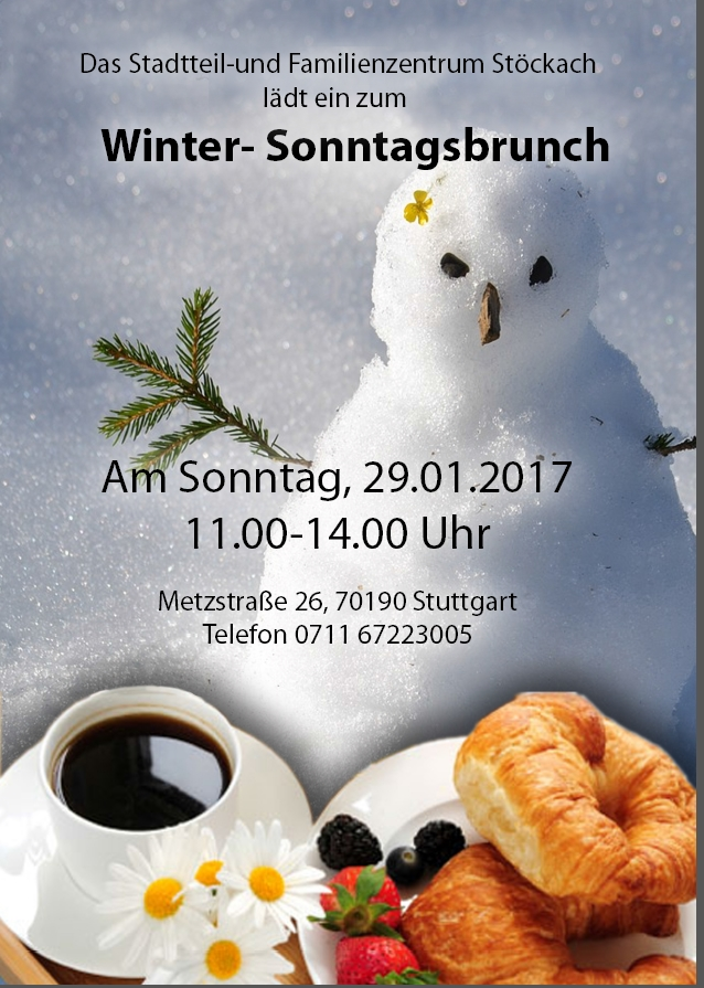 Winterbrunch Stöckach